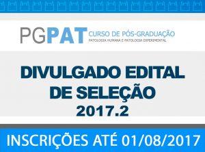 PGPATA EDITAL 2017