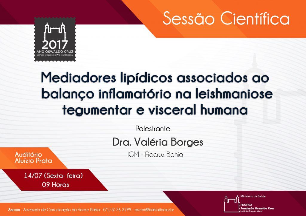 Valeria Sessao cientifica