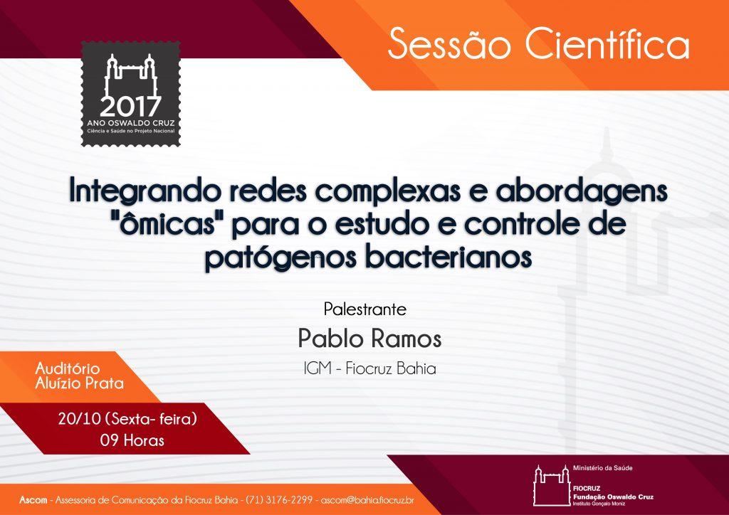 20 10 Pablo ramos Sessao cientifica